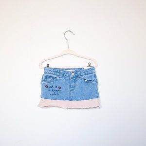 Zara Baby Denim Skirt sz 12/18 mos.